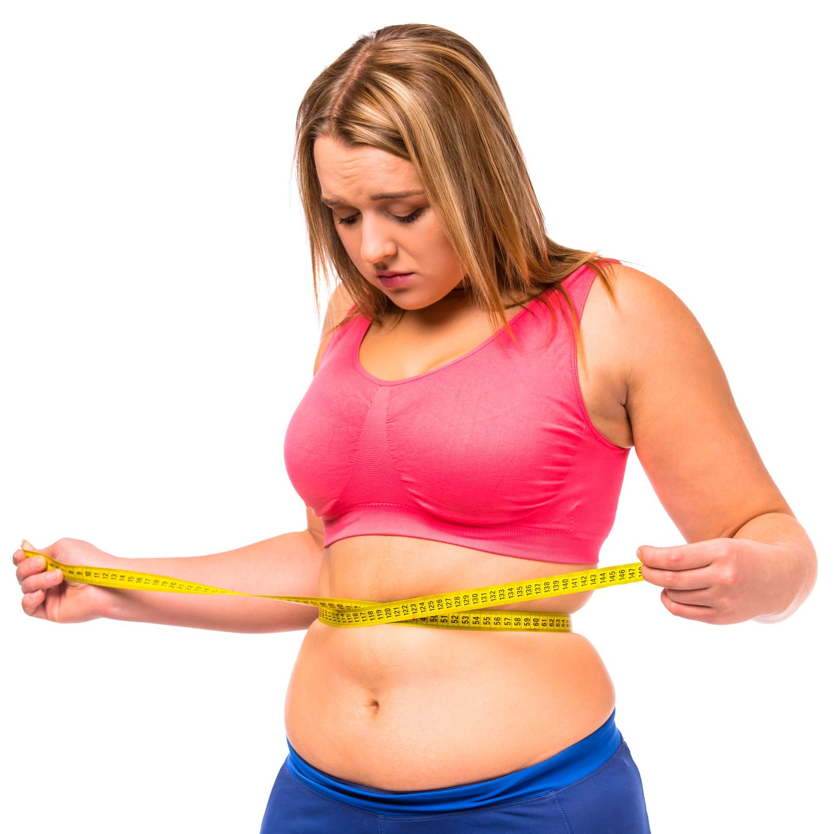 Этапы похудения девушки